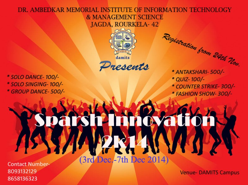 SPARSH INNOVATION 2K14